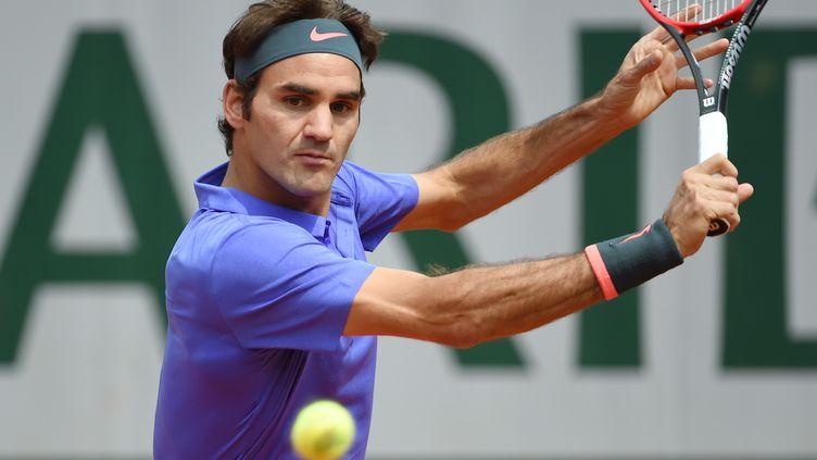Le Suisse Roger Federer (PASCAL GUYOT / AFP)
