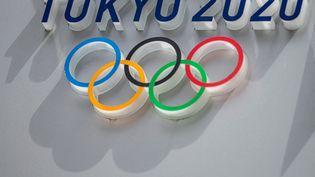 Les anneaux olympiques des Jeux de Tokyo (CHARLY TRIBALLEAU / AFP)
