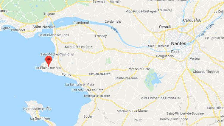 La-Plaine-sur-Mer, Loire-Atlantique (GOOGLE MAPS)