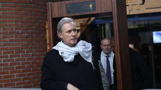 Georges Tron au tribunal de Bobigny (Seine-Saint-Denis), le 14 décembre 2017. (CHRISTOPHE ENA/AP/SIPA)