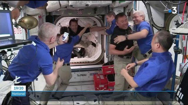 Mission Alpha : la capsule de la navette SpaceX est arrivée à l'ISS