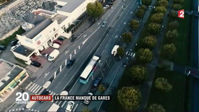 Transports en autocars : les villes françaises manquent de gares routières