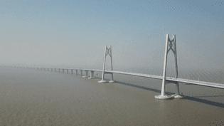 Hong Kong : un pont aux pieds d'argile (France 2)
