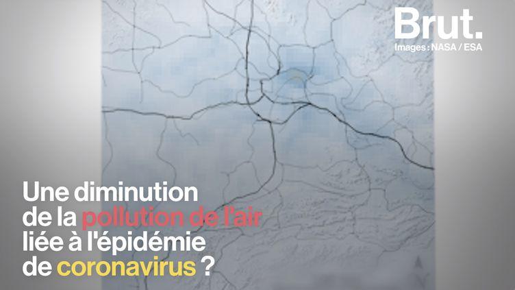 VIDEO. Coronavirus : une chute spectaculaire de la pollution en Chine (BRUT)