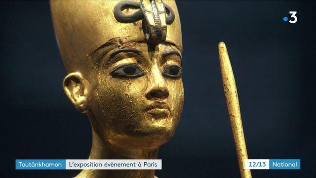 Toutânkhamon, le trésor du pharaon,  l'exposition événement à Paris