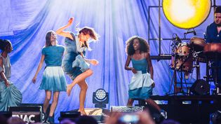 Camille au Fnac Live 2017 vendredi 7 juillet.  (Sarah Bastin)