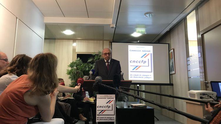 François Logerot, président de la commission des comptes de campagne (SYLVAIN TRONCHET / RADIO FRANCE)