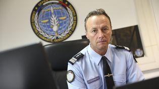 Le colonel Éric Emeraux, chef de l'Office de lutte contre les crimes contre l'Humanité, le 13 septembre 2018. (PHILIPPE DE POULPIQUET / MAXPPP)