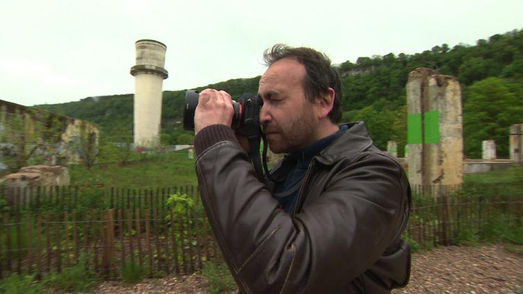Laurent Michelot, photographe (F. Le Moing / France Télévisions)