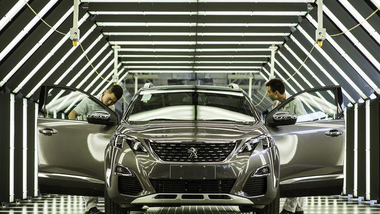 La nouvelle usine de PSA en Chine est spécialisée dans les4x4 urbains en plein essor dans le pays (SHEPHERD ZHOU / MAXPPP)