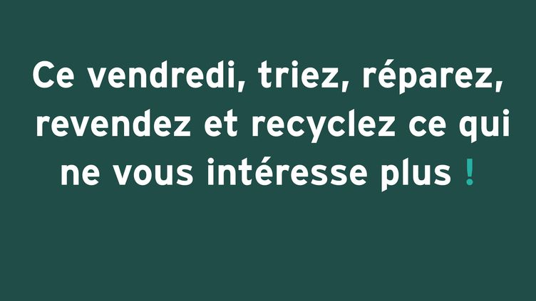 Campagne MAKE FRIDAY GREEN AGAIN sous l'impulsion de la marque Faguo (MAKE FRIDAY GREEN AGAIN)