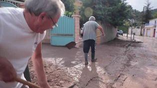 Intempéries à Marseille : le quartier de la Barasse envahi par leséléments (FRANCE 2)