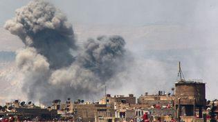 Damas (Syrie), le 21 mai 2015. (DIAA AL-DIN / REUTERS)