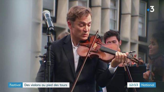 Val d'Oise : un orchestre aux pieds des tours