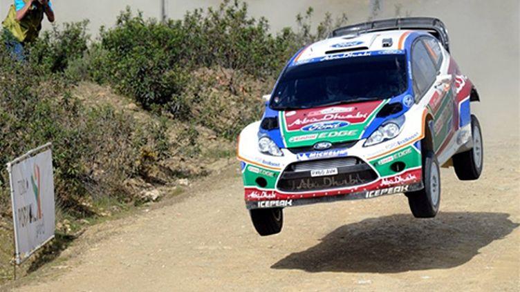 Jari-Matti Latvala (Ford Fiesta RS) (FRANCISCO LEONG / AFP)