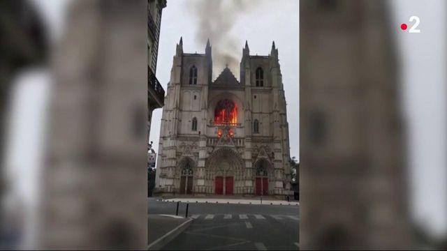 Incendie de la cathédrale de Nantes : un bénévole placé en garde à vue