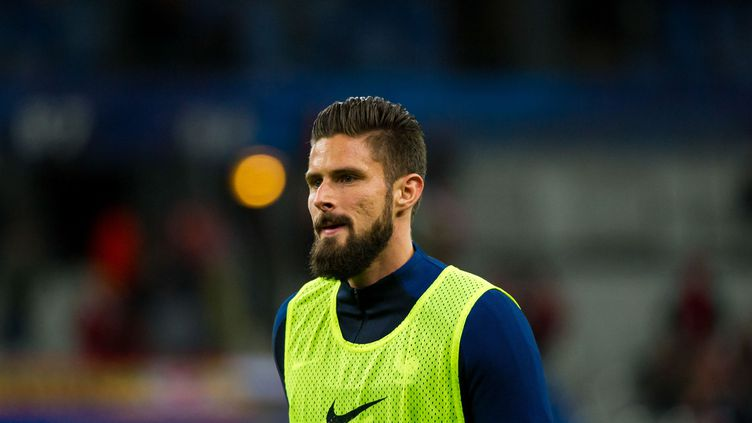 L'attaquant de l'équipe de France Olivier Giroud