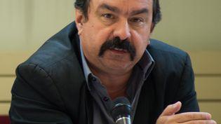 """Philippe Martinez, ici pris en photo le 24 avril 2013, n'a pas été retenu par le """"parlement"""" de la CGT pour prendre le poste de secrétaire général. (ERIC BARBARA / AFP)"""