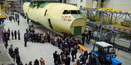Usine de production Antonov à Kiev (ROMAN PILIPEY / RIA NOVOSTI)