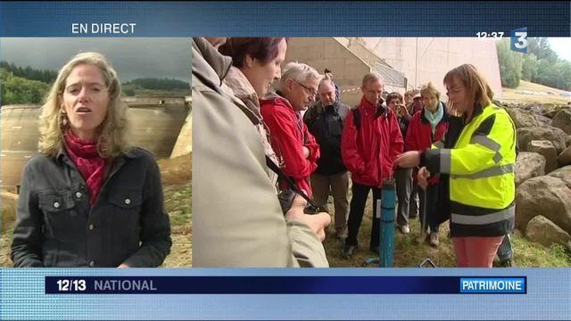 Journées du patrimoine : le barrage du Mazeaud attire les curieux