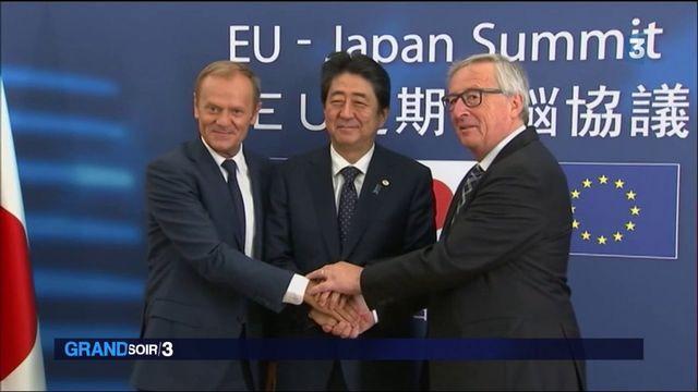 Libre-échange : l'Europe et le Japon signent un accord historique