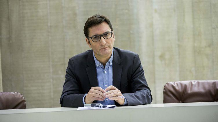 Olivier Dartigolles, porte-parole du Parti communiste français, ici, en 2016. (MAXPPP)