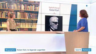 "La biographie sur Karl Lagerfeld, ""Kaiser Karl"", de Raphaëlle bacqué (France 3)"