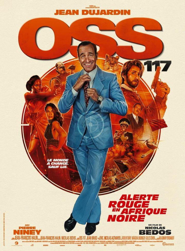 """Le film de Nicolas Bedos, """"OSS 117 - Alerte rouge en Afrque noire"""", sort le 4 août en salles. (GAUMONT)"""