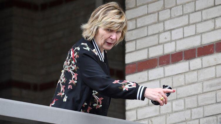 Michèle Marchand, le 22 avril 2017 au Touquet (Pas-de-Calais). (ERIC FEFERBERG / AFP)