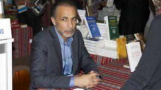 Tariq Ramadan, le 3 mai 2014, à Genève. (CITIZENSIDE /REMY GENOUD / AFP)