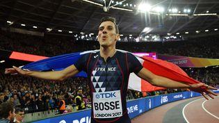 Pierre-Ambroise Bosse, champion du monde du 800m à Londres en août 2017 (BEN STANSALL / AFP)