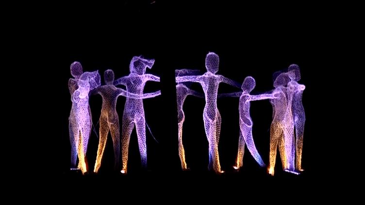 Un tableau du spectacle inaugural de Mons 2015. (France 3/Geopolis)