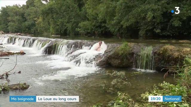 Doubs : la baignade dans la Loue se mérite