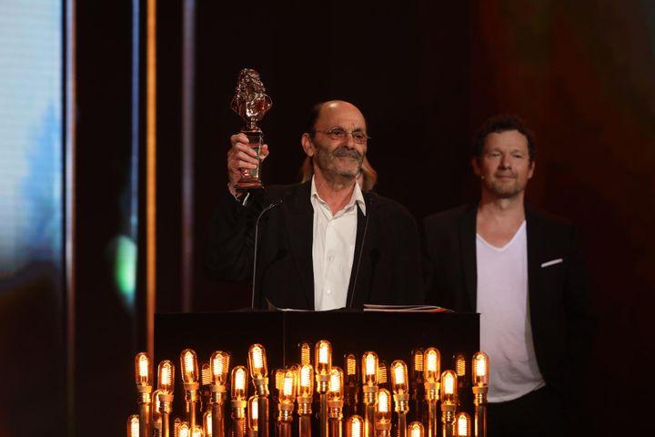 """Jean-Pierre Bacri, meilleur comédien de théâtre privé pour les """"Femmes savantes""""  (Romuald MEIGNEUX - FTV)"""