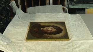 """La toile """"Mme Ackermann"""" de Marcellin Desboutin retrouve sa place au musée Anne-de-Beaujeu de Moulins (Allier)  (France 3 / Culturebox )"""