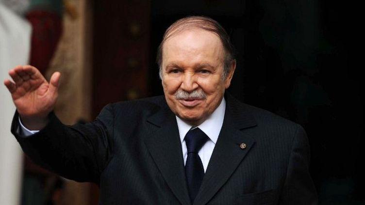 Le président algérien, Abdelaziz Bouteflika, le 14 janvier 2013 à Alger. (FAROUK BATICHE / AFP )