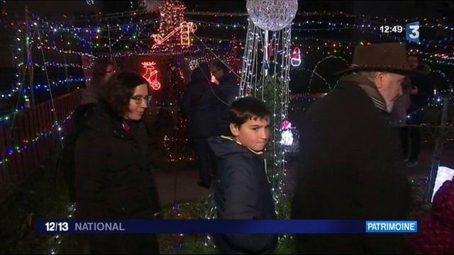 Noël : le jardin magique d'André et Christiane