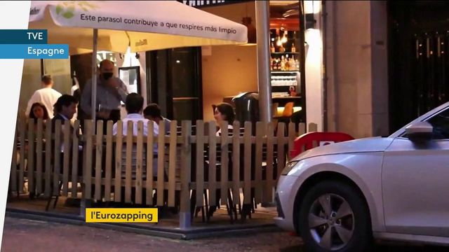Eurozapping : terrasses en Espagne, pass sanitaire en Hongrie…