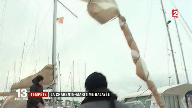 Tempête Ana : la Charente Maritime particulièrement touchée