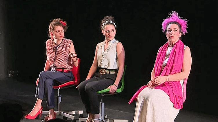 """""""La critique de l'école des Femmes"""" de Molière au théâtre du Pavé de Toulouse  (France 3 / Culturebox )"""
