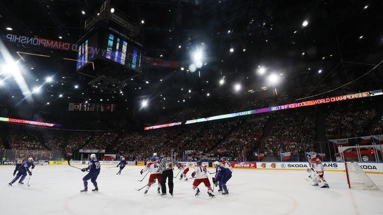La France a cédé face à la République tchèque  (THOMAS SAMSON / AFP)
