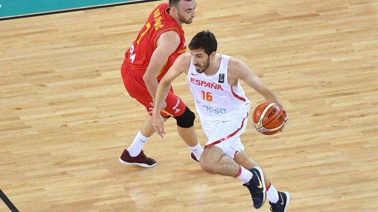 L'Espagnol Guillem Vives en action... (DANIEL MIHAILESCU / AFP)