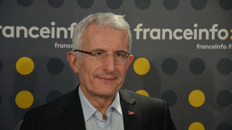 Guillaume Pepy,président de la SNCF. (JEAN-CHRISTOPHE BOURDILLAT / RADIO FRANCE)