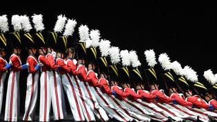 The Rockettes, décembre 2015 à New York.  (TIMOTHY A. CLARY / AFP)