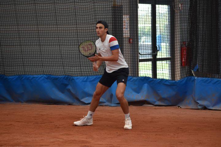 Dan Added a déjà remportétrois tournois ITF. (Hortense Leblanc)