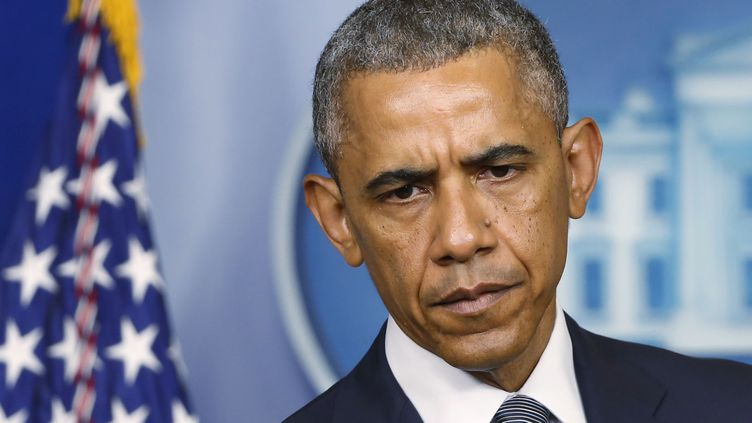 (Barack Obama avait annoncé hier qu'il avait autorisés des frappes aériennes ciblées contre les djihadistes © REUTERS / Larry Downing)