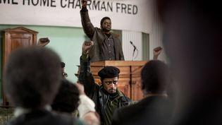 "Daniel Kaluuya et Lakeith Stanfield dans""Judas and the Black Messiah"" deShaka King. (GLEN WILSON)"