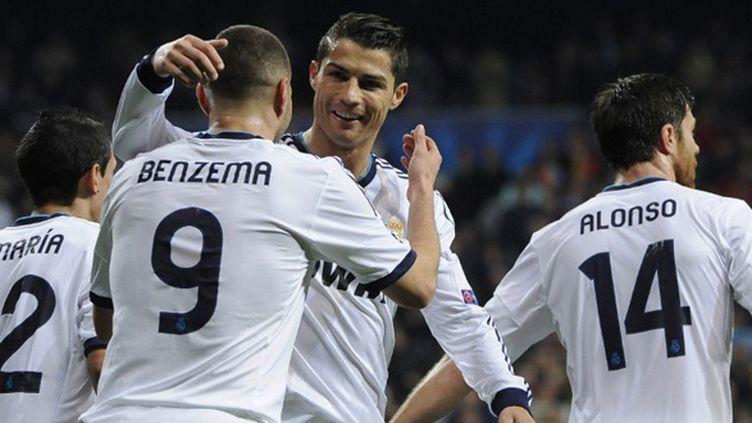 Benzema félicité par Cristiano Ronaldo, Xabi Alonso et Di Maria