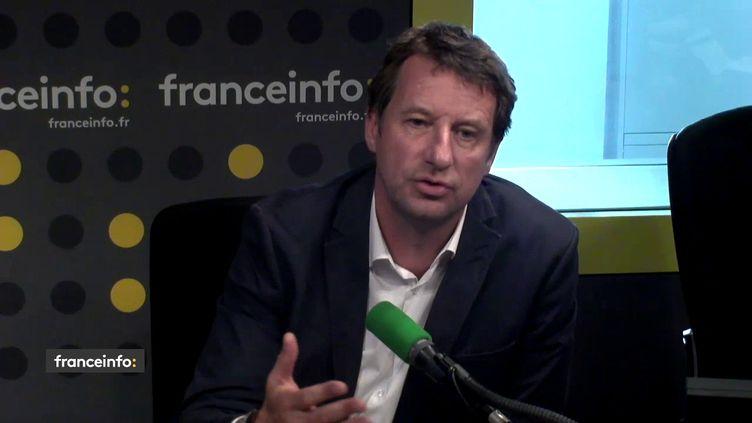 Yannick Jadot, eurodéputé Europe Écologie-Les Verts sur franceinfo. (FRANCEINFO / RADIOFRANCE)