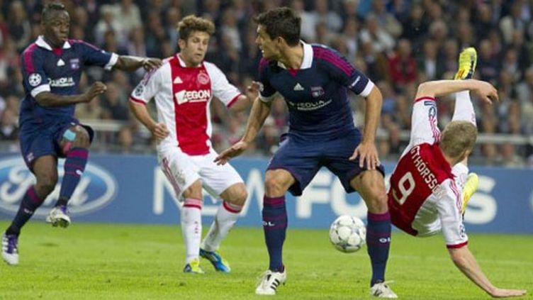 L'Ajax, un adversaire toujours redoutable (OLAF KRAAK / ANP)